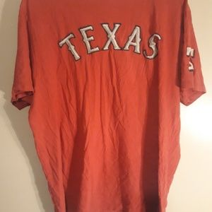 Texas rangers number 47 brand mens l